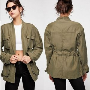 Free People In Our Nature utility Jacket NEW sz M